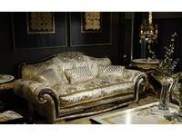 Tecni nova: Diamond: диван 3-х местный  (ткань Serie 9)