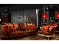 Tecni nova: Diamond: диван 4-местный  (ткань Serie 9)