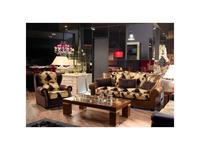 Tecni nova: Elegance: диван трехместный  (кожа Serie 19, ткань Serie 5)