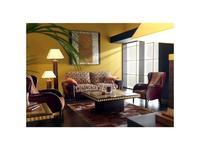 Tecni nova: Elegance: диван 2-х местный  (кожа Serie 15, ткань Serie 5)