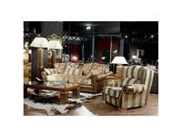 Tecni nova: Harmony: комплект мягкой мебели ткань, кожа