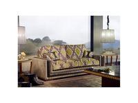 Tecni nova: Harmony: диван 3-х местный 2,35 ткань, кожа Casablanca