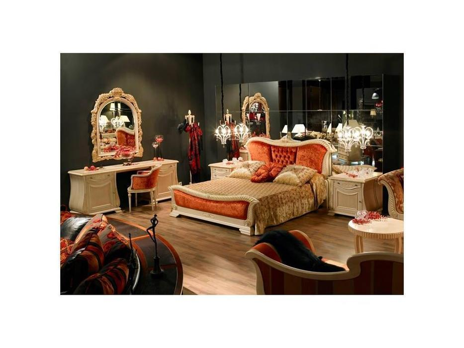 Tecni nova: Elegance: спальная комната  (слоновая кость, золото)
