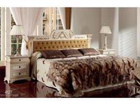 Techni Nova: кровать 180х200 (белый, золото)
