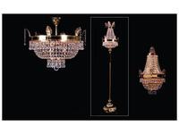 Zanaboni: лампа напольная  хрусталь