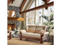 Ле Кузен: New Jersey: диван 2-х местный раскладной ткань кат C