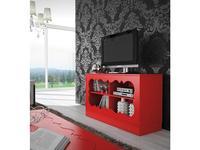 Coim: Lucrecia in love: тумба под телевизор  Carola (красный)