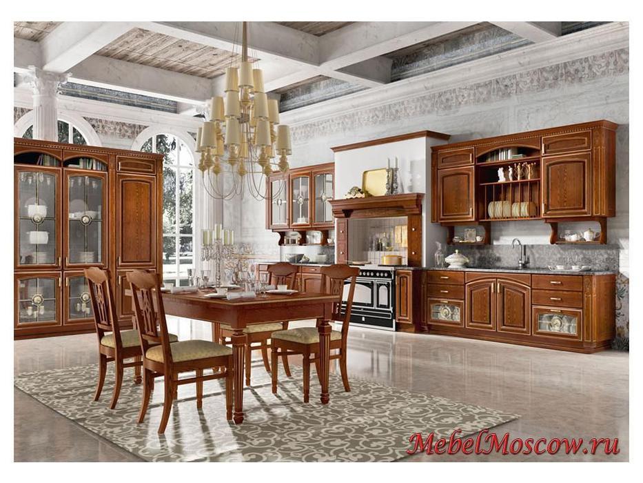 Home Cucine: кухня Gold Elite (орех с золотом)