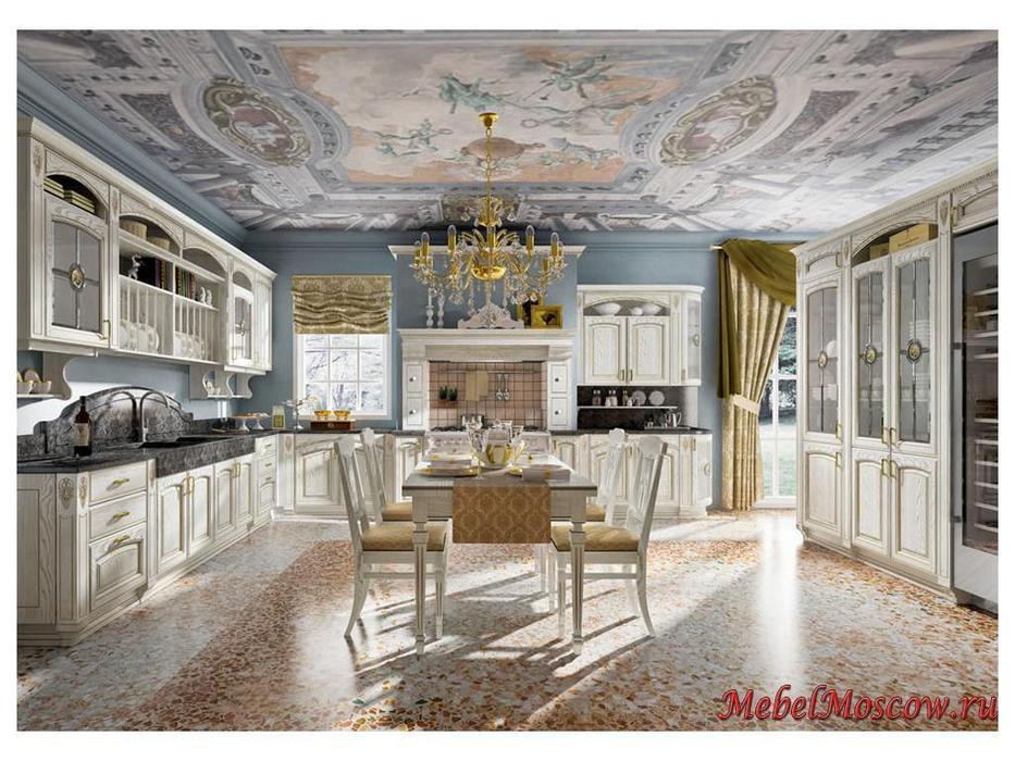 Home Cucine: кухня Gold Elite (белый золотистый)
