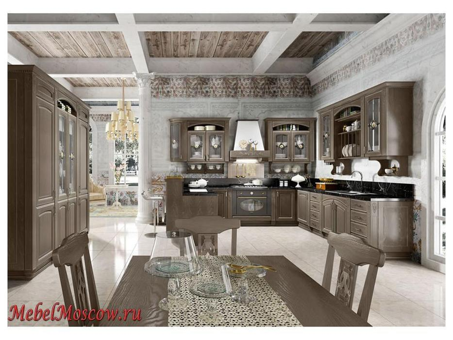 Home Cucine: кухня Gold Elite (бронзовый серебристый)