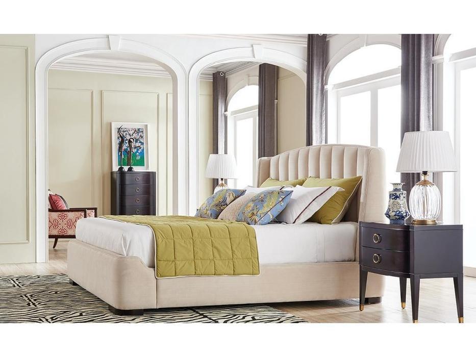 Fratelli Barri: Modena: кровать 180х200  ткань (бежевый)