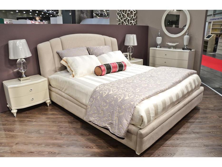 Fratelli Barri: Rimini: кровать 180х200  ткань