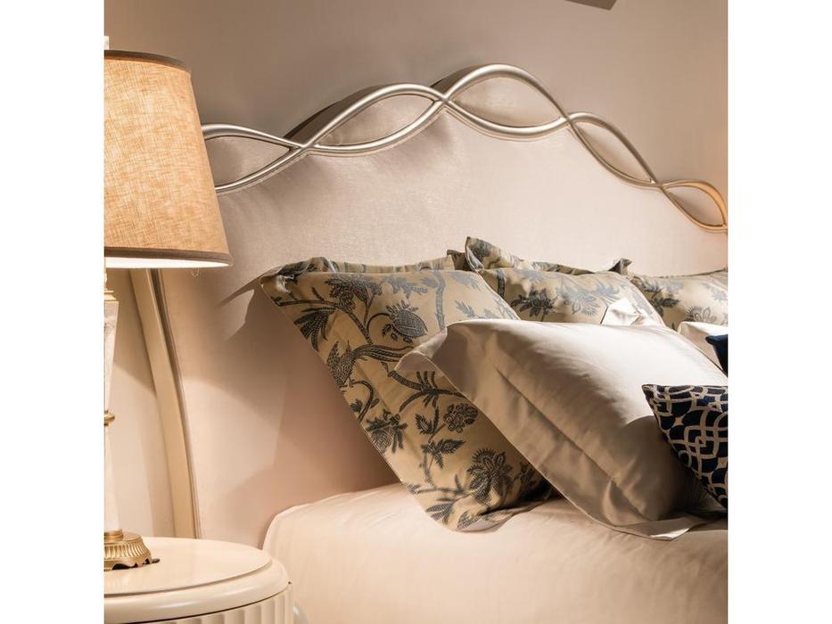 Fratelli Barri: Rimini: кровать  180х200 (серебро, бежевый)