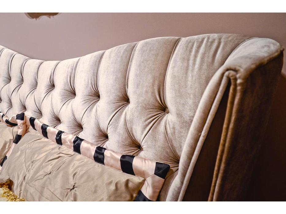 Fratelli Barri: Mestre: кровать 180х200  (вишня, серый)
