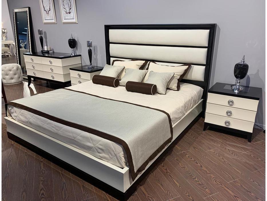 Fratelli Barri: Prato: кровать 180х200  (бежевый, вишня)