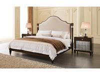 Fratelli Barri: Mestre: кровать  180x200 светло-бежевый велюр (вишня)