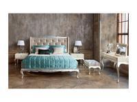 Fratelli Barri: Venezia: кровать  180х195 (серебро, бежевый)