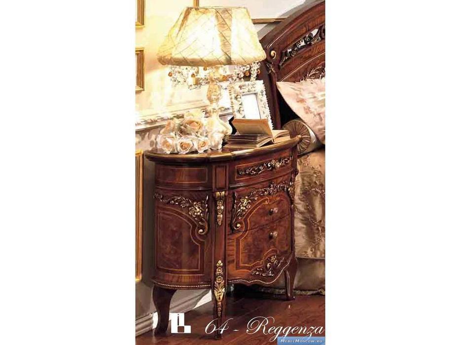 Barnini Oseo: Reggenza Luxury: тумба прикроватная  с золотым украшением