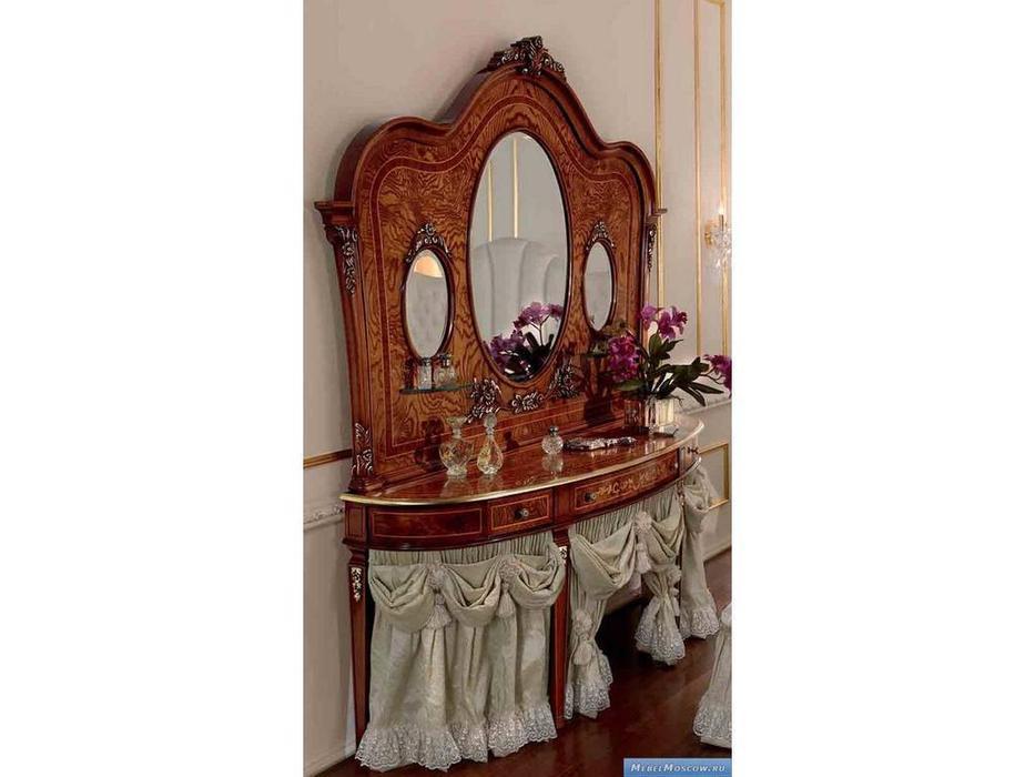 Barnini Oseo: Reggenza Luxury: зеркало для туалетного стола  с золотым украшением
