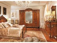 Barnini Oseo: Reggenza Luxury: шкаф 4-х дверный  с золотым украшением