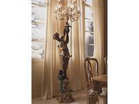 Andrea Fanfani: Complementi: торшер  Танцовщица с факелом  cat. B (золото, серебро)