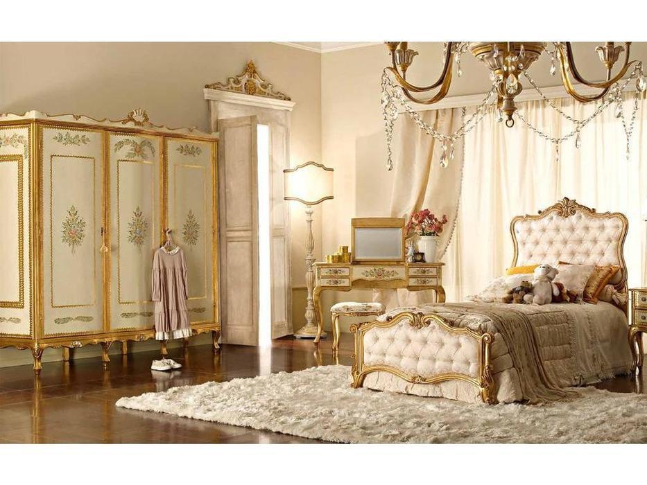 Andrea Fanfani: детская комната с 3 дверным шкафом (золото, серебро)