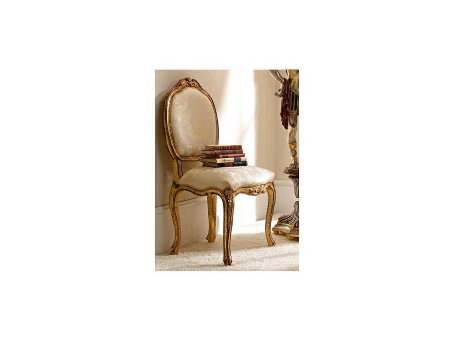 Andrea Fanfani: стул мягкий  cat. A (золото, серебро)