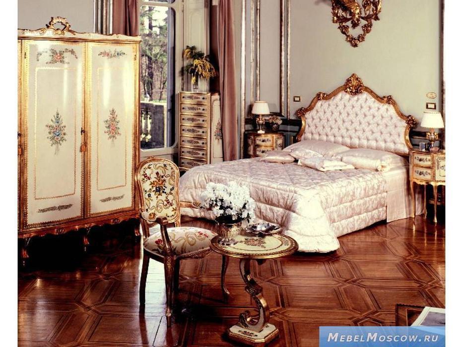 Andrea Fanfani: стул с подлокотниками  cat. B (золото, серебро)