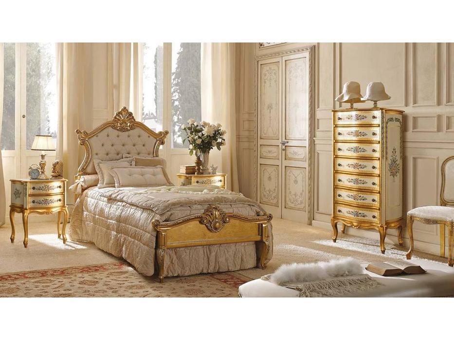Andrea Fanfani: детская комната без шкафа (золото, серебро)