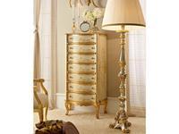 Andrea Fanfani: комод высокий  cat. A (золото, серебро)