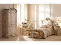 Andrea Fanfani: детская комната с 1 дверным шкафом (патинат)