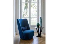 Alberta: Vivien: кресло  высокое cat.8 (ткань)