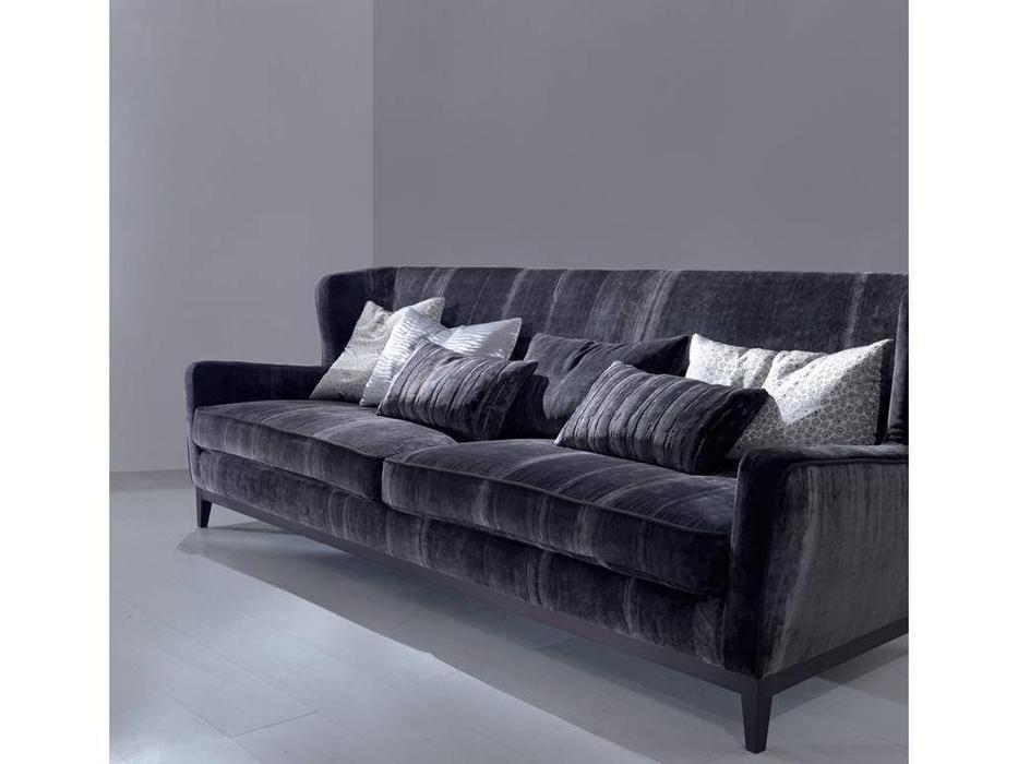 Asnaghi Аснаги: Timeless: диван 3-х местный Baltic ткань Super