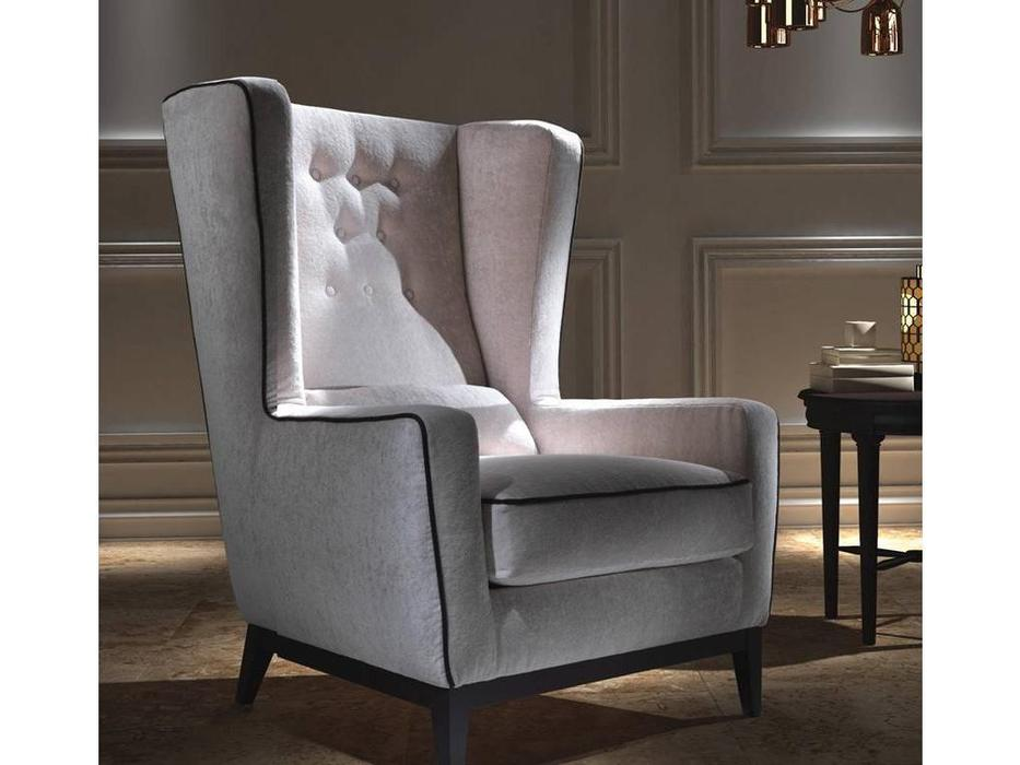 Asnaghi Аснаги: Timeless: кресло Aurora ткань Super
