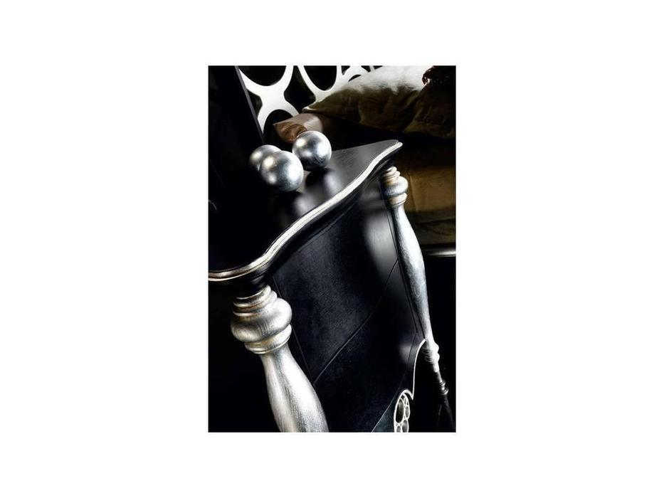 Mobil fresno: Venus: тумба прикроватная  (черный, серебро)