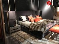 Mobil fresno: кровать двуспальная 180х200 Queen (ткань)