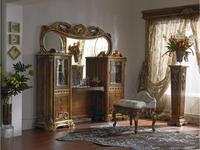 Moblesa: Gold: стол туалетный с зеркалом (volga)