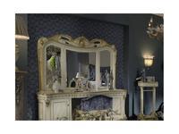Moblesa: Gold: зеркало навесное к туалетному столу (stuco)