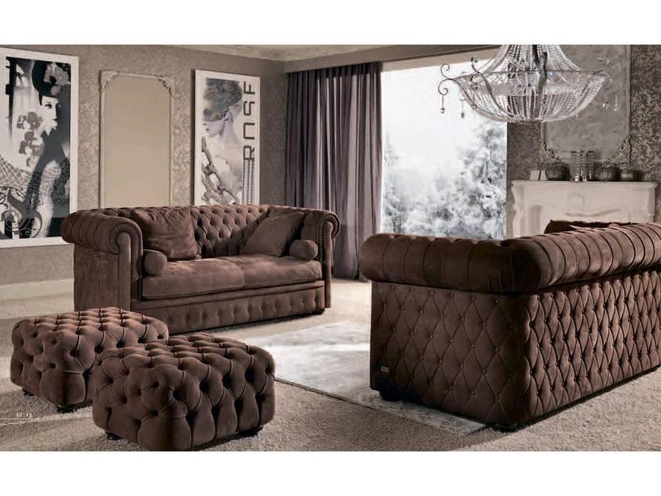 Keoma: Chester de Luxe: диван 2-х местный кат. Pelle Nabuk