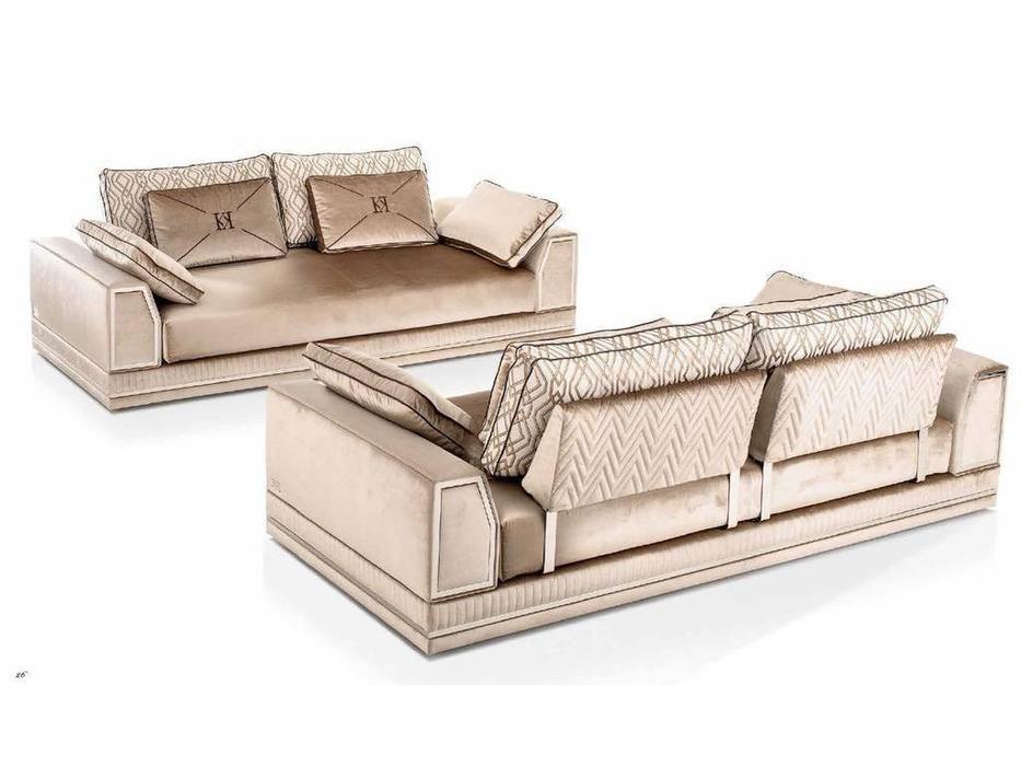 Keoma: Enea: диван 3 местный Max ткань кат. Super