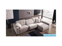 Keoma: Safira: диван угловой c оттоманкой ткань кат. Super