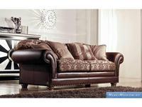 Keoma: Dania: диван 2 местный ткань кат. Super + кожа