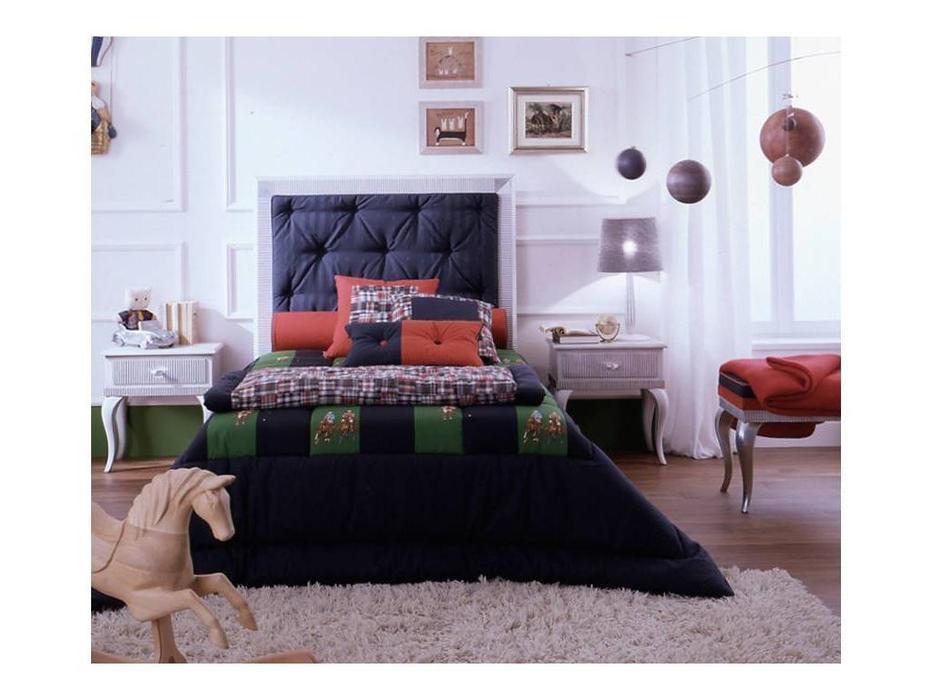 Frari: Dorico: кровать 120х200  (foglia argento)