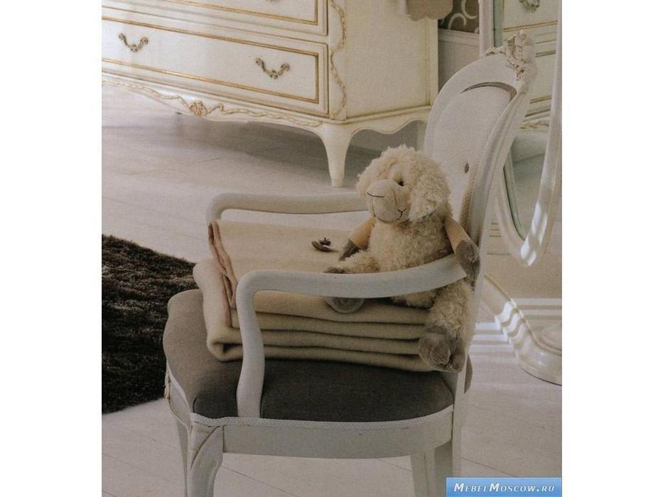 Frari: Fiocco Bebe: кресло  (слоновая кость с золотом)