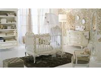 Frari: Fiocco Bebe: интерьер детской комнаты (слоновая кость с золотом)