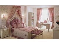 Frari: Rose: кровать 120х190  (слоновая кость, розовый)