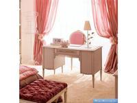 Frari: Rose: стол письменный  (слоновая кость, золото)