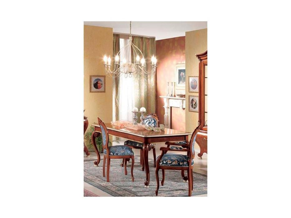 Tarocco Vaccari: Paradise: стул ткань  (орех, золото)
