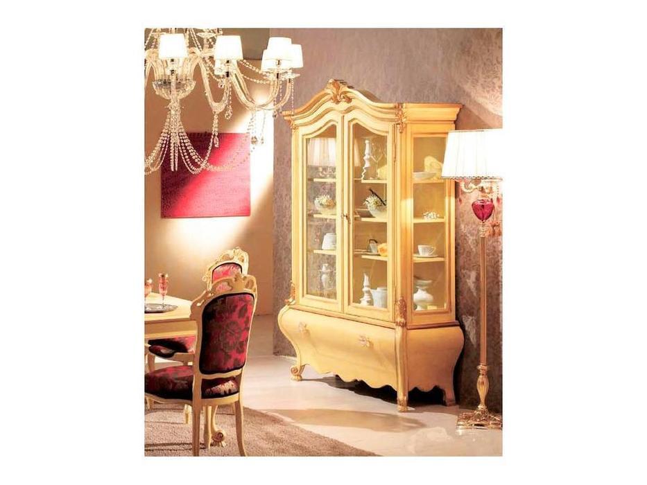 Tarocco Vaccari: Paradise: витрина 2-х дверная  (laccato, oro)