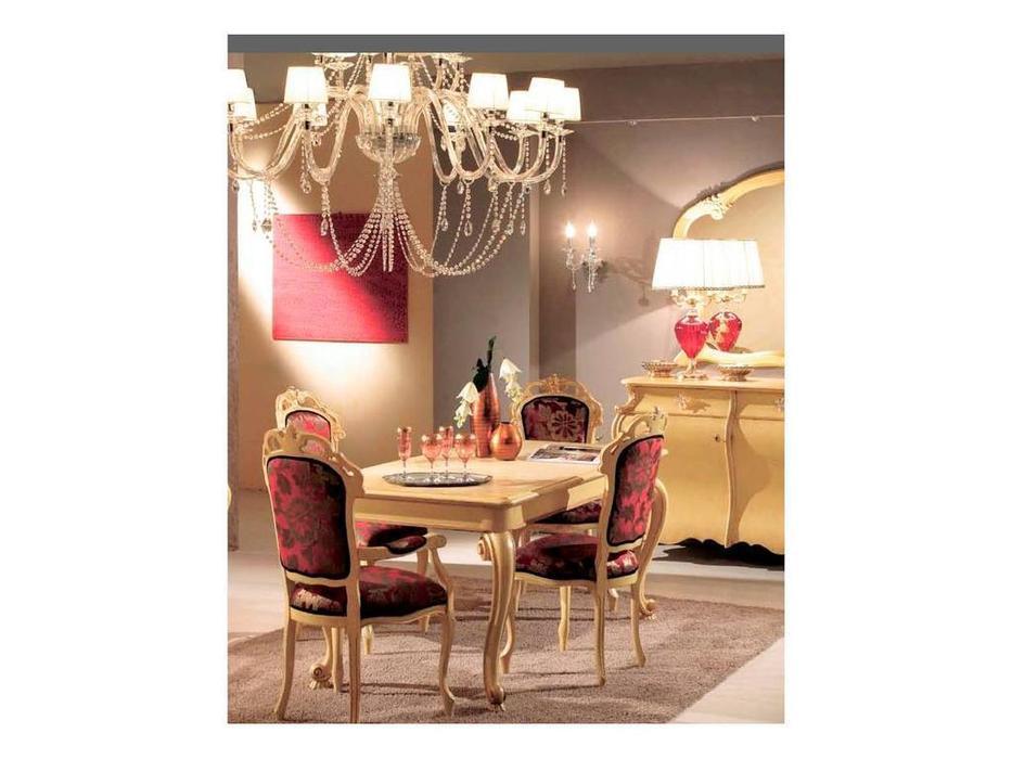 Tarocco Vaccari: Paradise: стул ткань  (laccato, oro)